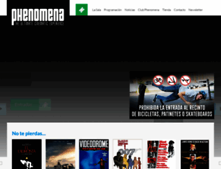 phenomena-experience.com screenshot