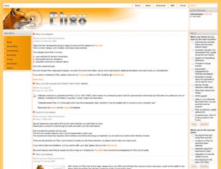 phex.org screenshot