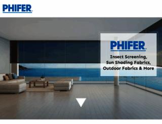 phifer.com screenshot