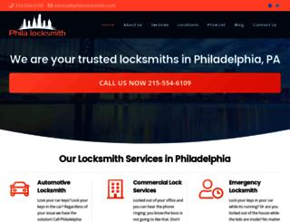 phila-locksmith.com screenshot
