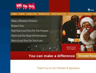 philadelphia-pa.toysfortots.org screenshot