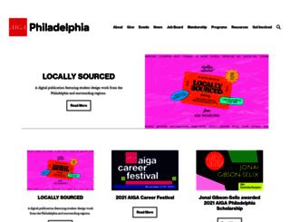 philadelphia.aiga.org screenshot