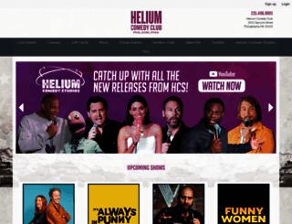 philadelphia.heliumcomedy.com screenshot