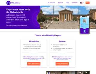 philadelphiapass.com screenshot
