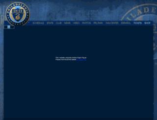 philadelphiaunion.io-media.com screenshot