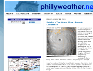 philadelphiaweather.blogspot.com screenshot