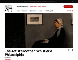 philamuseum.org screenshot