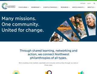 philanthropynw.org screenshot