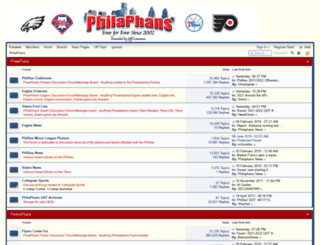 philaphans.com screenshot