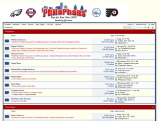 philaphans.net screenshot