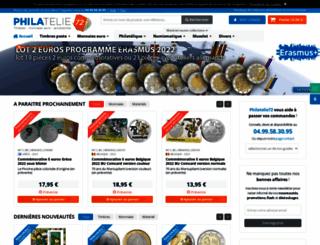 philatelie72.com screenshot