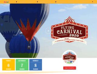 philballoonfest.net screenshot
