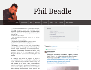 philbeadle.com screenshot