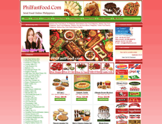philfastfood.com screenshot