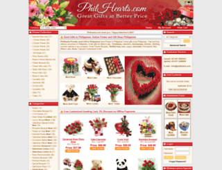 philhearts.com screenshot