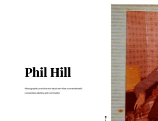 philhillphotography.com screenshot