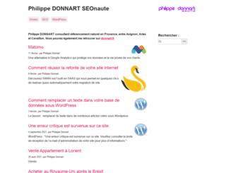 philippe-donnart.com screenshot