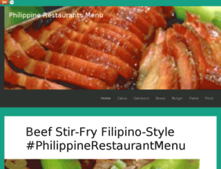 philippine-restaurants-menu.blogspot.com screenshot