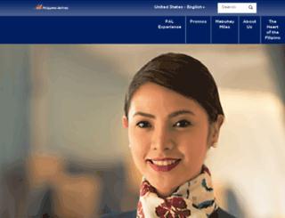 philippineairlines.com.ph screenshot