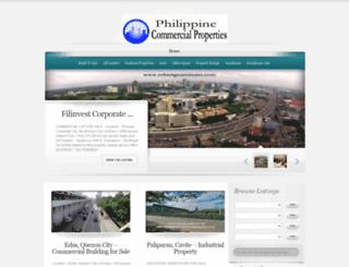 philippinecommercialproperties.com screenshot