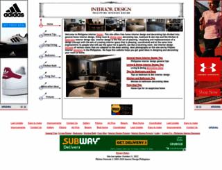 philippineinteriordesign.com screenshot
