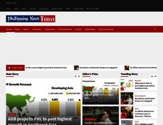 philippinenews.com screenshot