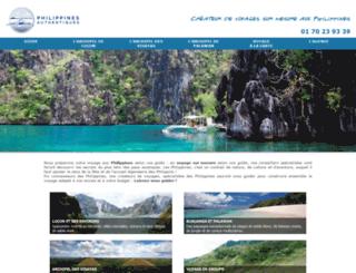 philippines-authentiques.com screenshot