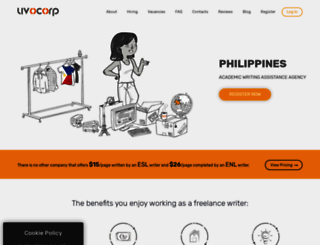 philippines.uvocorp.com screenshot