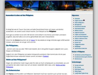 philippines4ever.de screenshot