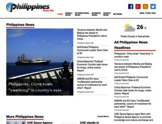 philippinesnews.net screenshot