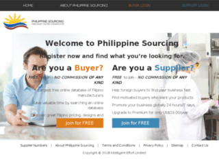 philippinesourcing.com screenshot