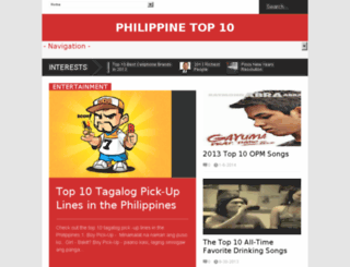 philippinetop10.com screenshot