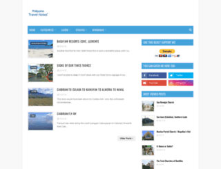 philippinetravelnotes.blogspot.com screenshot