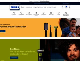 philips.com.tr screenshot