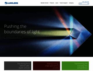 philipslumileds.com screenshot