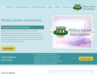philisaisizwe.org.za screenshot
