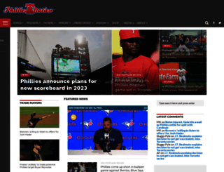 philliesnation.com screenshot