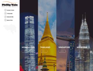 phillip-wain.com screenshot