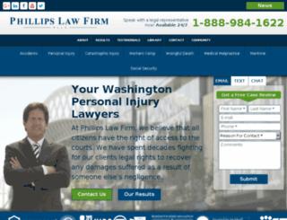phillipswebster.com screenshot