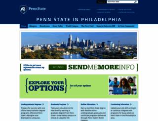 philly.psu.edu screenshot