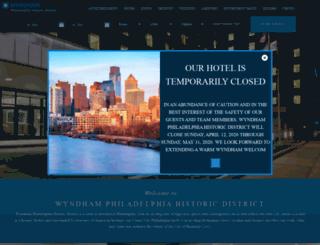 phillydowntownhotel.com screenshot