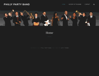 phillyparty.com screenshot