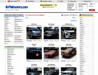 philmotors.com screenshot