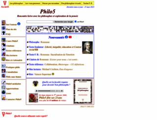 philo5.com screenshot