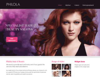 philola.co.uk screenshot