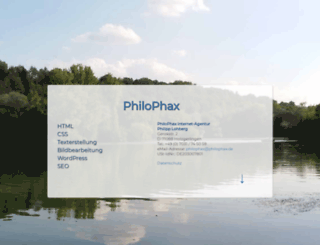 philophax.de screenshot
