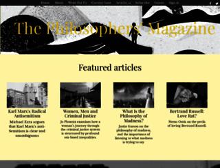 philosophersmag.com screenshot