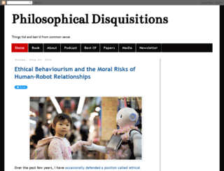 philosophicaldisquisitions.blogspot.ie screenshot