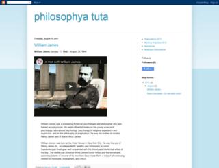 philosophyatuta.blogspot.com screenshot