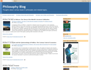 philosophyblog.com screenshot